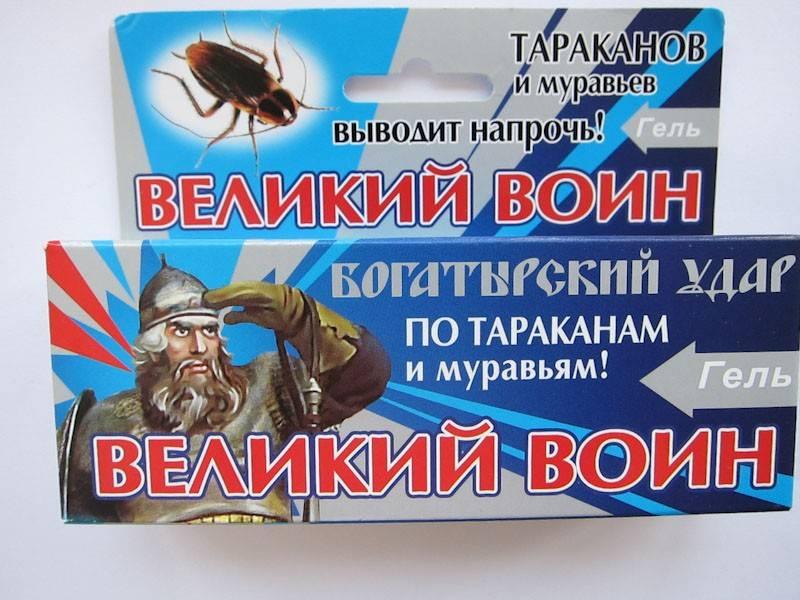 Купить великий воин, 80 г гель от тараканов и муравьев